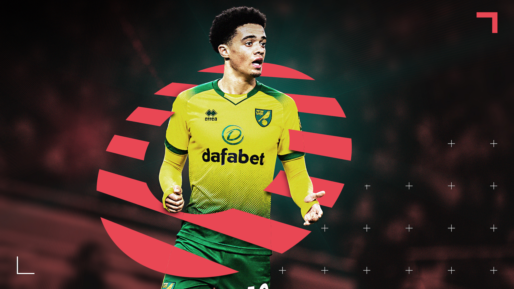 Norwich City's Jamal Lewis has been linked with a move to Premier League champions Liverpool.
