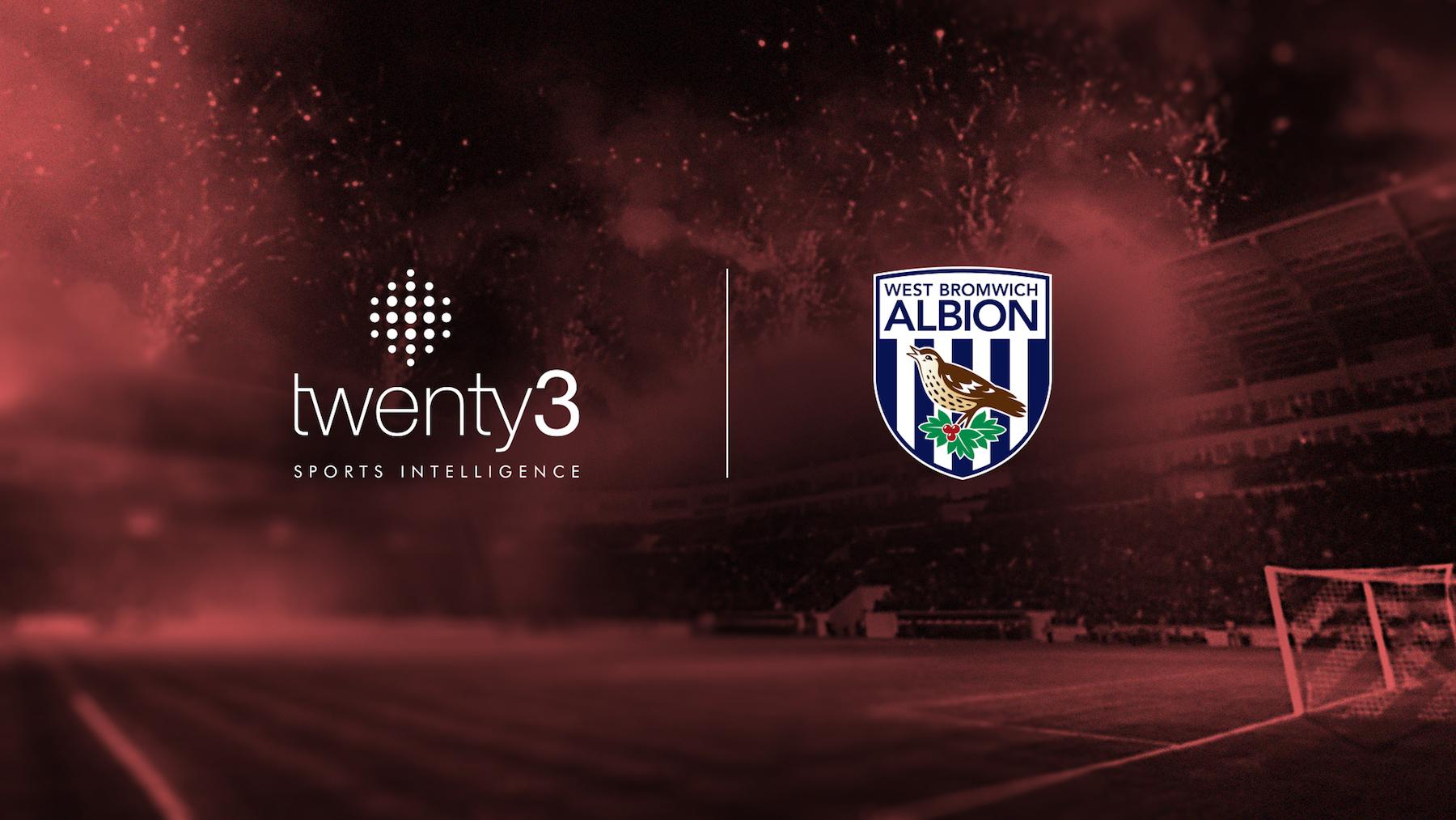 Twenty3 announce partnership with West Bromwich Albion